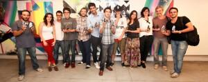 Vencedores do 3.º Filmworks Film Festival.