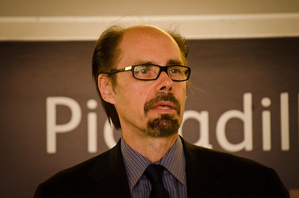 Jeffery Deaver na Academia Internacional de Cinema