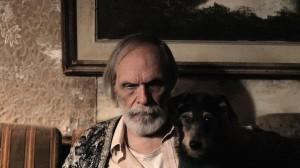 O cineasta Carlos Reichenbach, em sua última aparição no cinema.