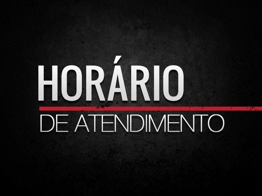 ATENÇÃO: HORÁRIO DE ATENDIMENTO NAS FÉRIAS