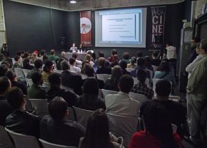 Última edição da Semana de Cinema e Mercado, realizada na AIC em 2013.