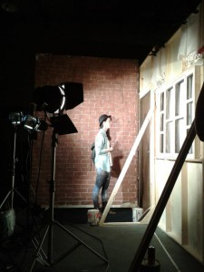 """Cenário do curta """"Volta pra Casa"""" produzido na última edição do Curso de Direção de Arte Avançado"""