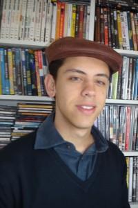 André Albregard  - ex-aluno e produtor da Mostra Mundo Árabe de Cinema