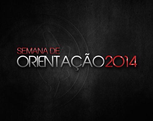 logo semana orientação 2014