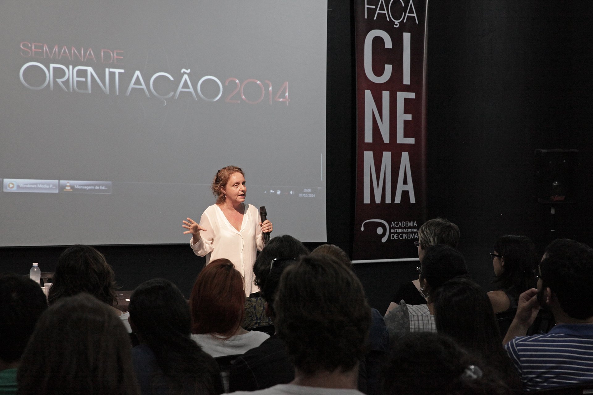 """O final """"My way"""" da Semana de Orientação – Jordana Berg na AIC"""