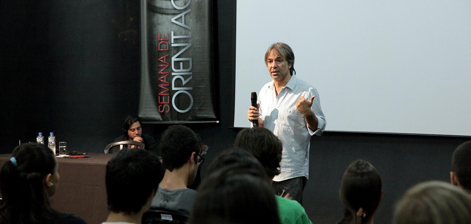 """Cine es la Mirada"", diz Pablo Giorgelli"