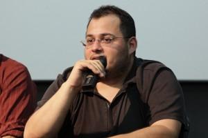 """Gui Ashcar vencedor do FWFF 2010 com o curta """"Professor Godoy""""."""