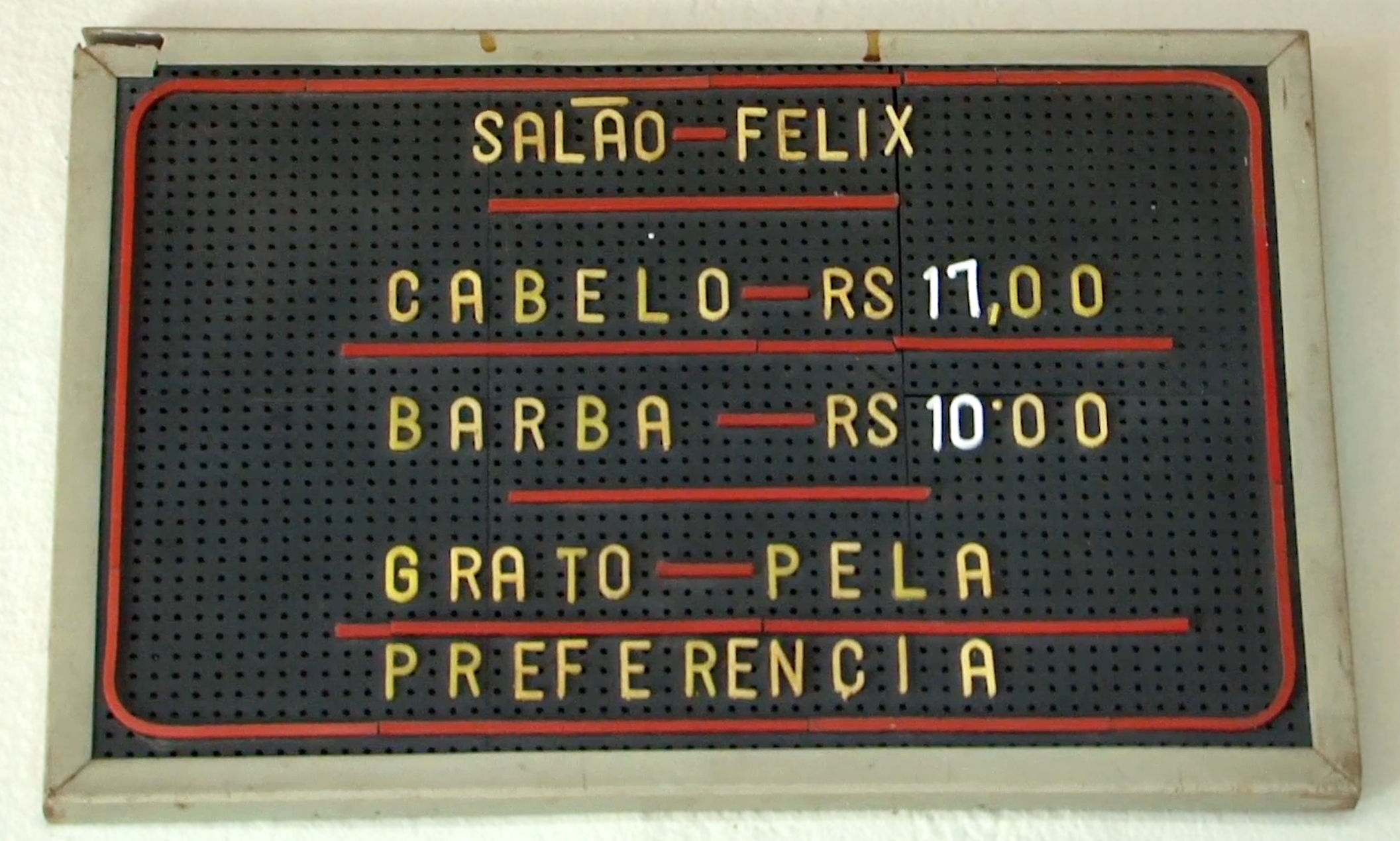 "Documentário ""Cabelo 17 Barba 10"" de Gabriel, Neves, Geraldo Osorio, Jose Ramon Dib."