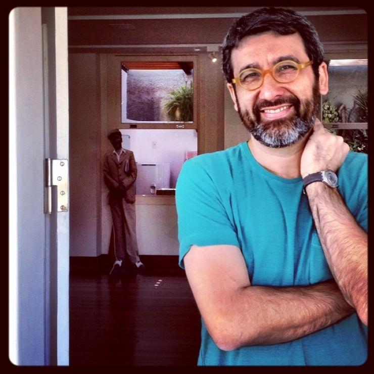 Aula aberta com o poeta Manoel Ricardo de Lima