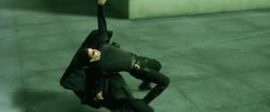 O efeito bullet time, que ficou famoso com a cena do Neo, em Matrix