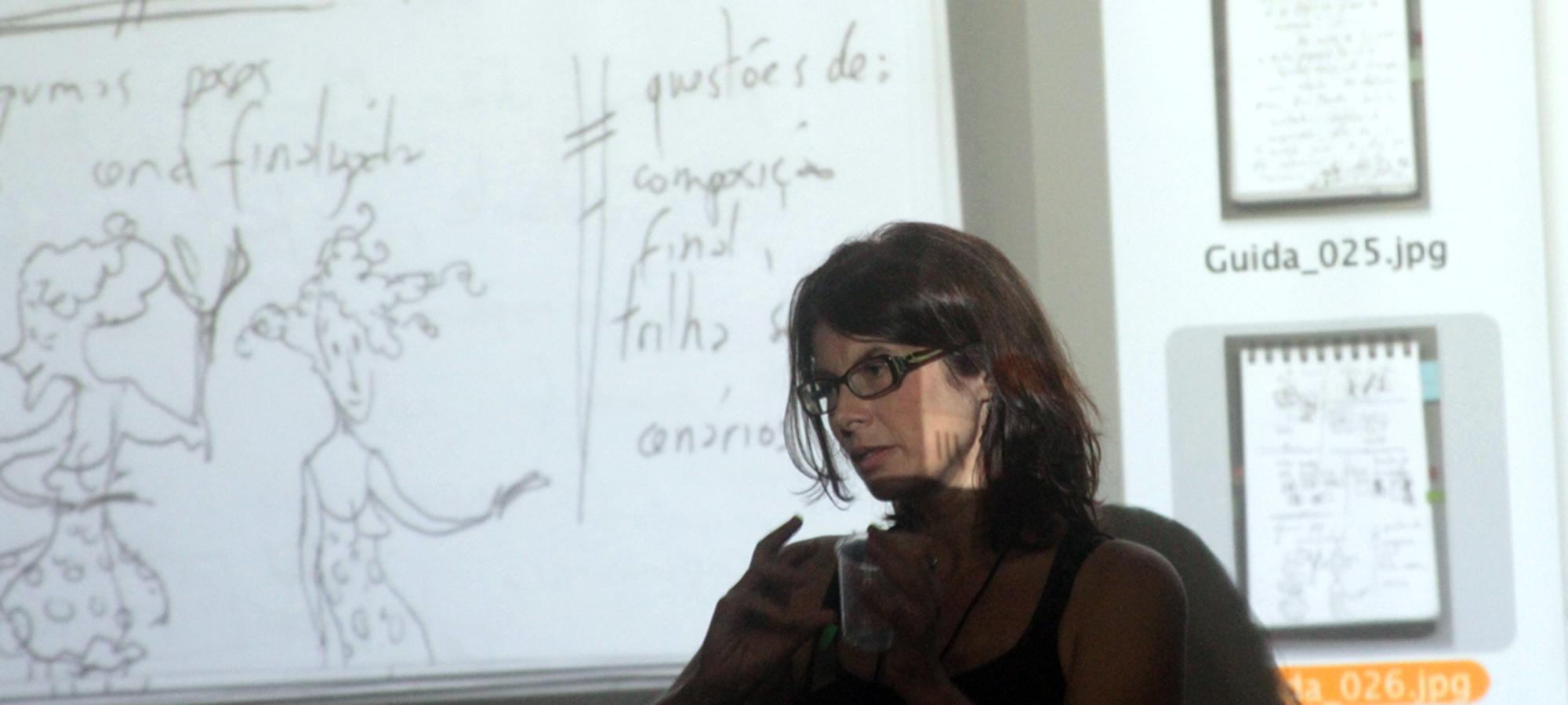 Rosana Urbes e o processo de produção de Guida