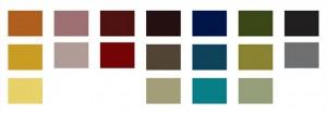 A paleta de cores do filme: tons pastéis e referência aos anos 1970 e, principalmente, aos filmes daquela época.