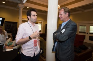 Daniel Drummond e Karl Water Lindenlaub (Diretor de Fotografia de Independence Day, Stargate, As Crônicas de Nárnia: Príncipe Caspian)