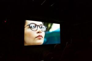 Frame do filme de Juliana no BFI - Teatro Southbank