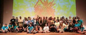 Premiados e participantes da Goiânia Mostra Curtas.