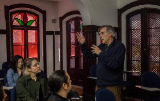 Diretor de Fotografia Lauro Escorel na AIC de São Paulo