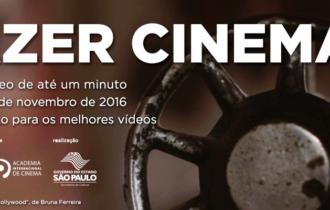 AIC e Festival do Minuto convidam a fazer cinema