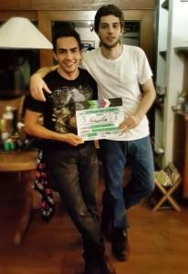 Chay Suede e Junior Machado Foto: Divulgação