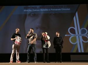 Debate sobre o filme Demônia - foto: divulgação