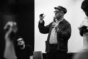 James Schamus e Rodrigo Teixeira na AIC - RJ