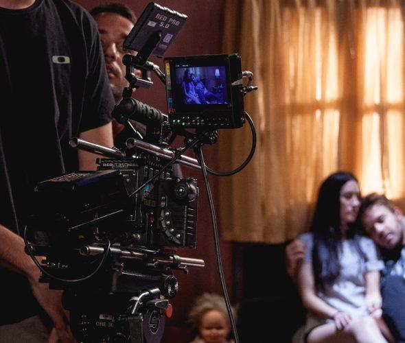 A direção de fotografia é a área que controla o processo de construção e registro das imagens de um filme.