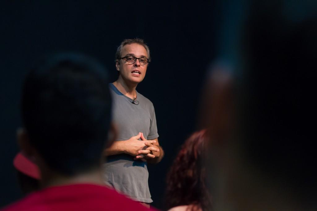 "Beto Brant fala sobre ""Pitanga"", cinema autoral e resistência na AIC - Foto Yuri Pinheiro 8195"
