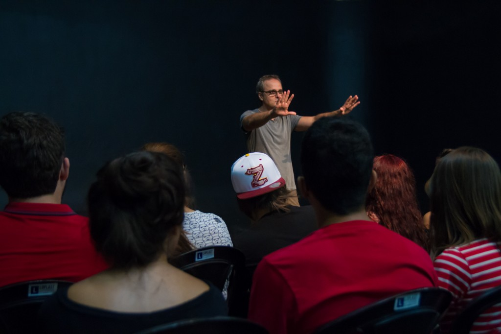 "Beto Brant fala sobre ""Pitanga"", cinema autoral e resistência na AIC - Foto Yuri Pinheiro 8200"