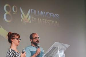 Nossos super-coordenadores-apresentadores Clarissa e Eduardo!