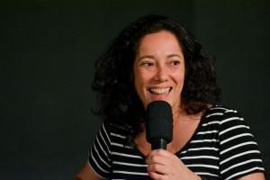 A produtora e assistente de direção, Clara Linhart.