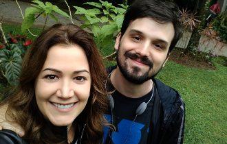 """Professora Atriz e Aluno Diretor juntos em """"Lendas Urbanas"""", nova série da TV Record"""