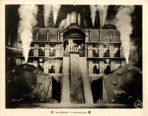 Torre de Babel no filme Metrópolis