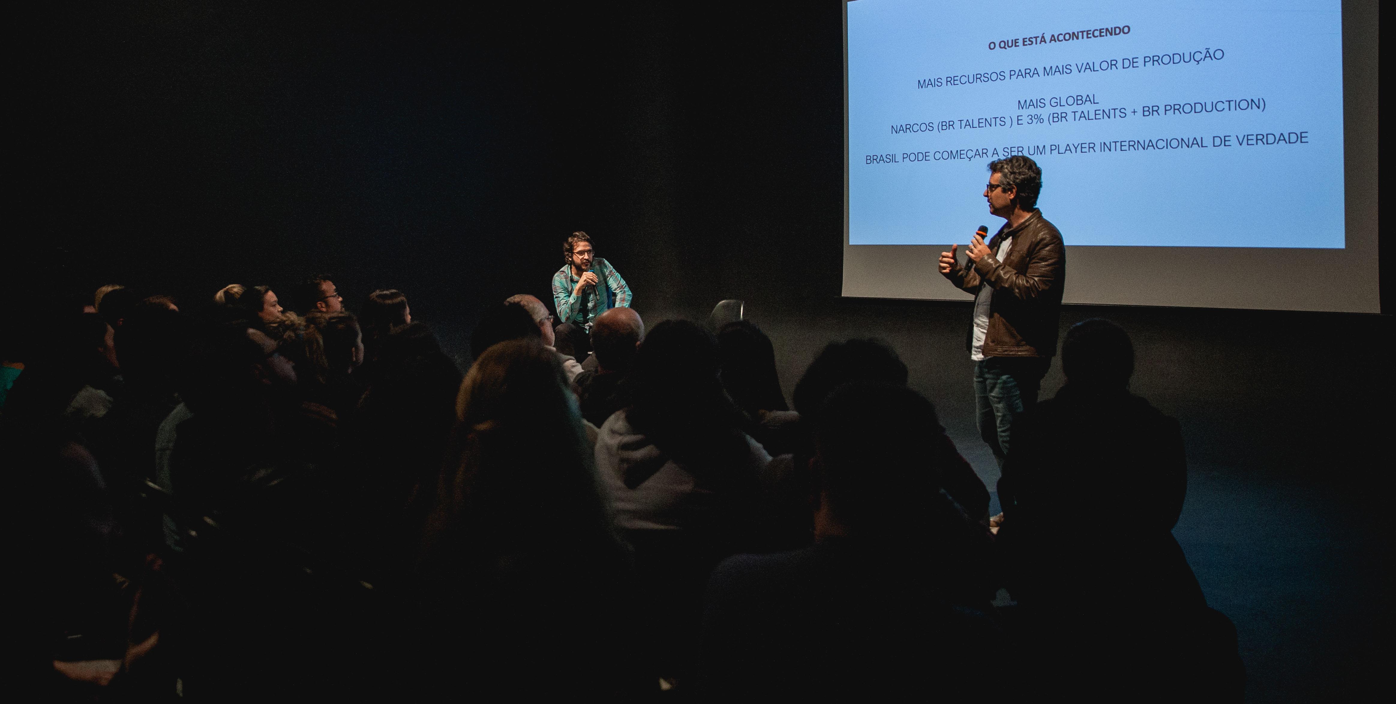 Eduardo Piagge e Tiago Mello, da Boutique Filmes, falam sobre conteúdo brasileiro na Netflix