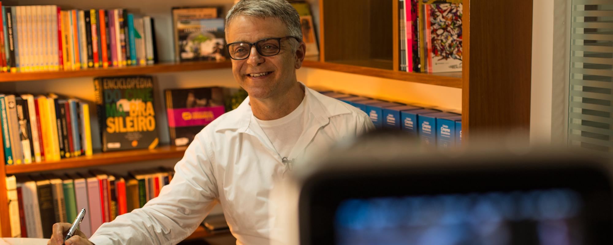 O roteirista Sergio Goldenberg abre a edição carioca da Semana de Cinema e Mercado 2018