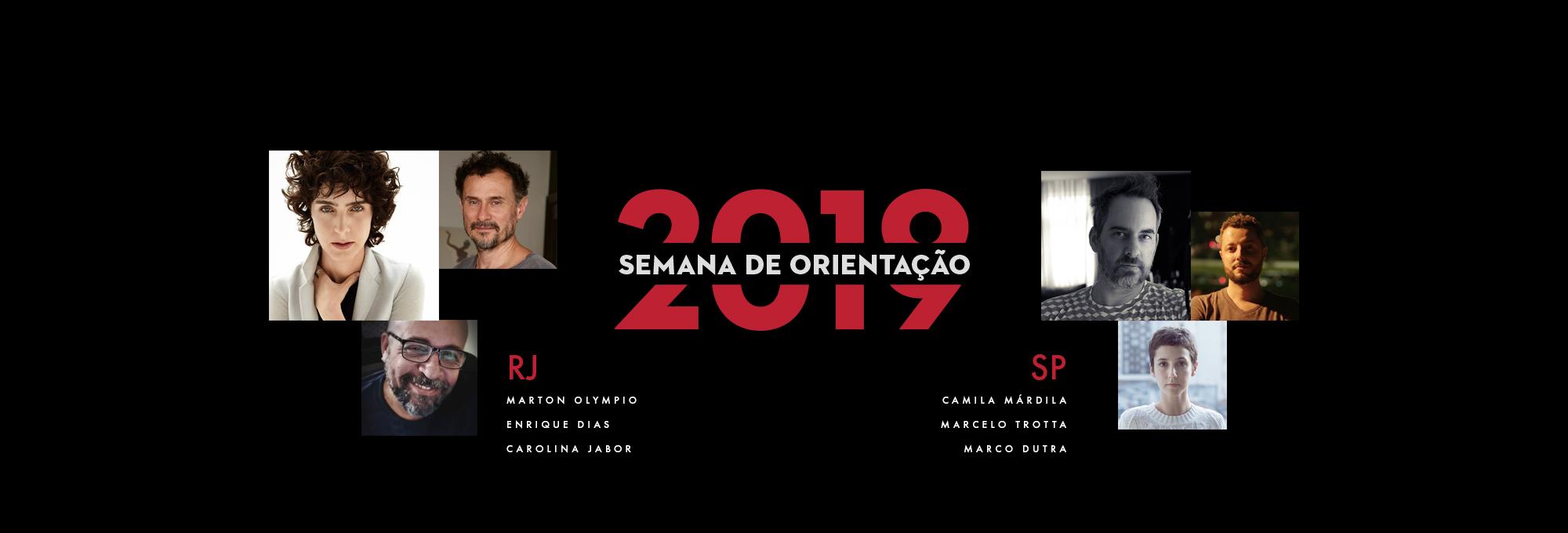 SEMANA DE ORIENTAÇÃO 2019