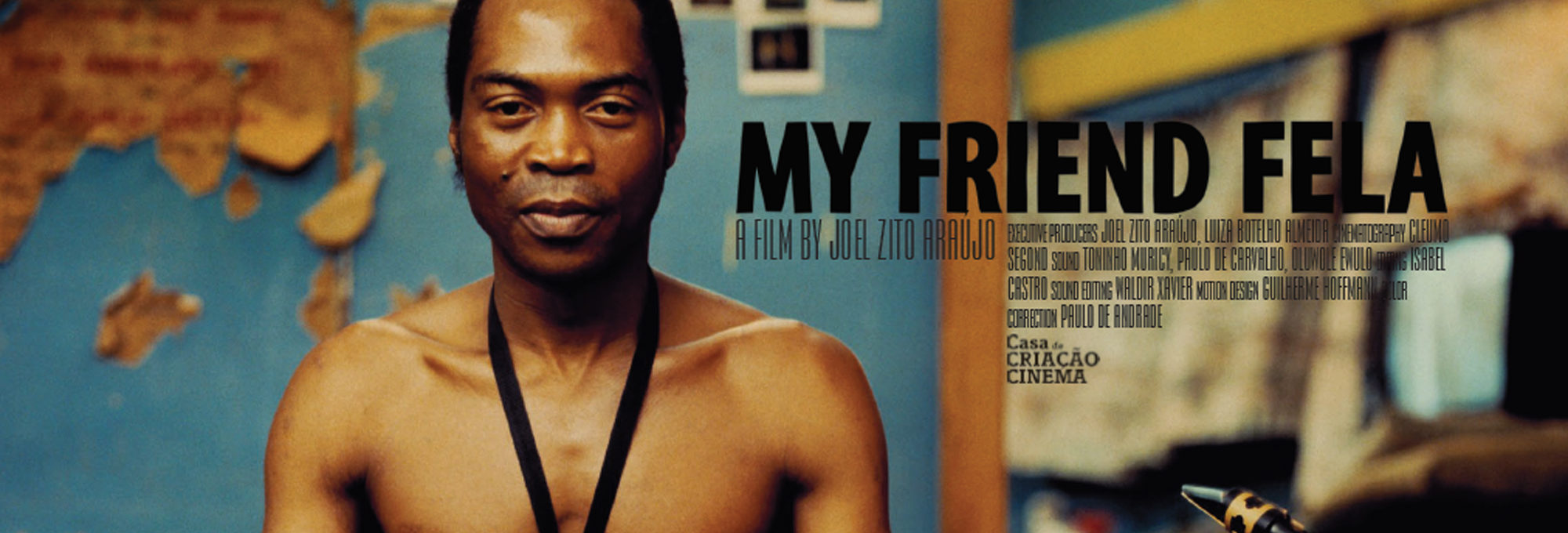 Documentário sobre Fela Kuti fotografado pelo professor Cleumo ...