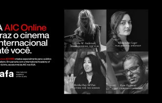 Novos cursos em parceria com a International Academy of Film & Arts