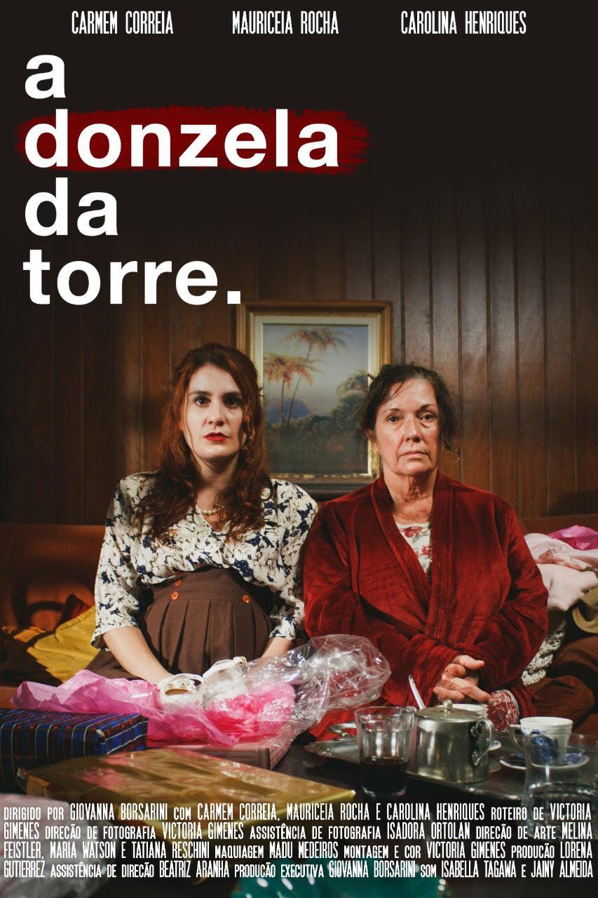 Curta-metragem A Donzela da Torre, em que Victoria atuou como roteirista e diretora de fotografia