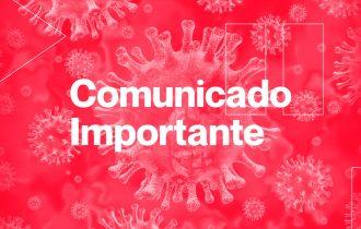 COMUNICADO CORONAVÍRUS #2