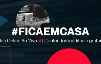LIVES de Junho com grandes realizadores #FicaEmCasa