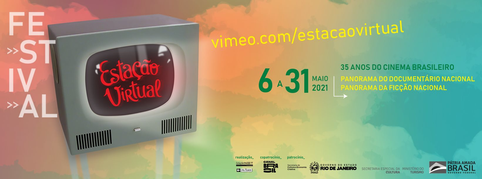 Festival Estação Virtual – 35 anos de Cinema Brasileiro