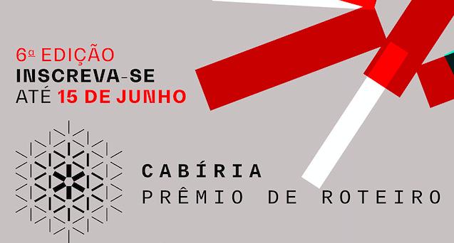 Inscrições abertas para Cabíria Prêmio de Roteiro